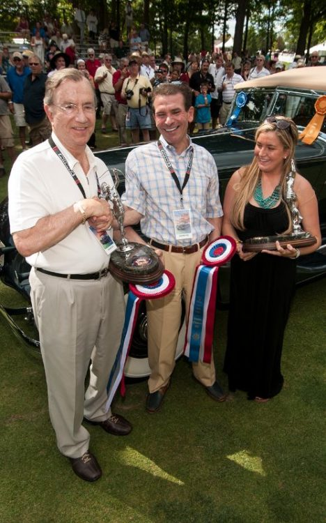 Best of Show Owners -Concours d'Elegance of America 2012