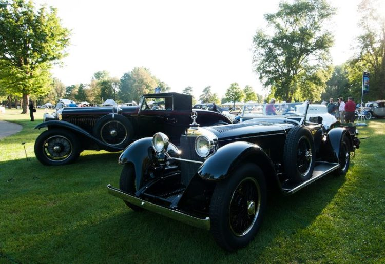 1928 Mercedes-Benz S Boat Tail Speedster