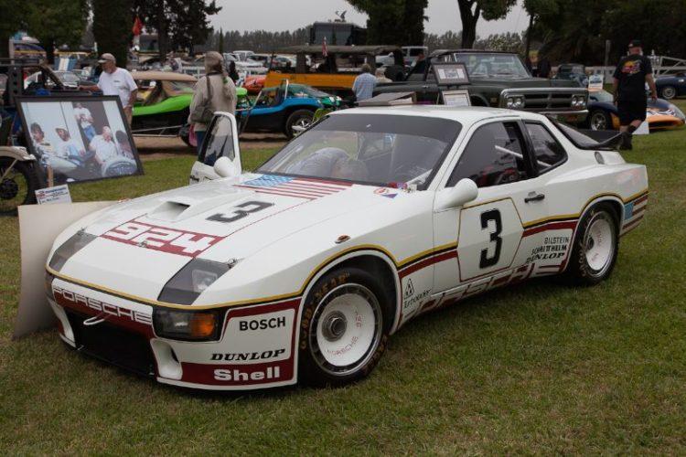 Jim Edward's 1980 Porsche 924 GTP (Werksrennfahrzeug), Le Mans Team Werks  - (1 of 3). Driven by Al Holbert & Derek Bell 1980 24 hours of Le Mans.