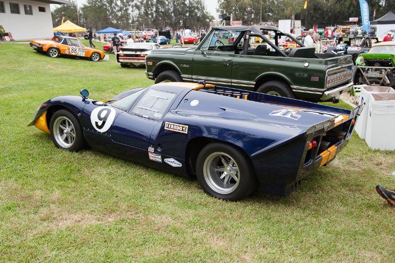 John Coombs 1969 Lola T70 MK3B - James Garner tribute car