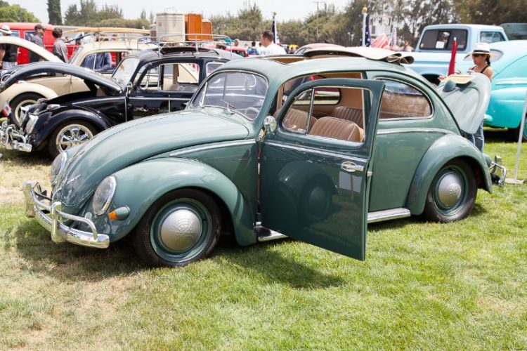 """1957 Volkswagen """"oval window"""" Bug, owned by Rick Litchie."""