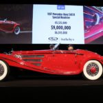 Mercedes-Benz Sold at Auction in 2016