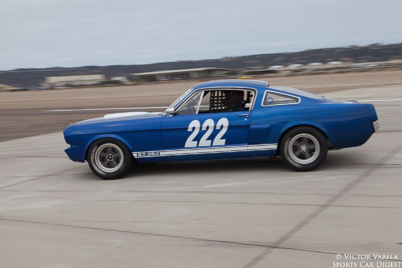 Craig Wright in his 1966 Shelby GT350. © 2014 Victor Varela
