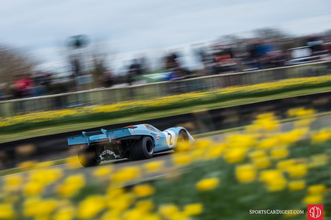 Porsche 917K at the Goodwood Members Meeting (photo: Julien Mahiels)