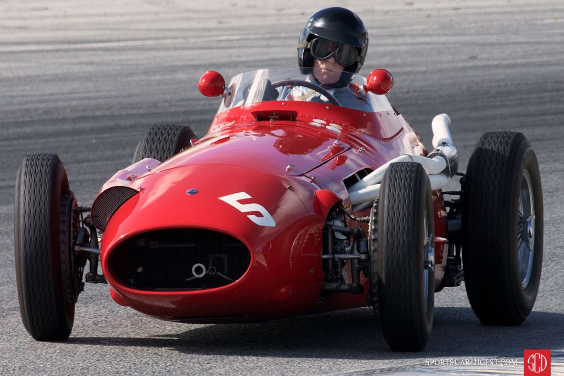 Maserati 250F at the LSR Invitational (photo: Dennis Gray)