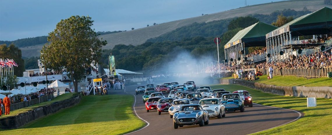 Start of the Kinrara Trophy race at the Goodwood Revival (photo: Julien Mahiels)