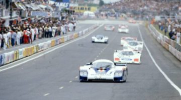 Jacky Ickx and Derek Bell teamed up to win Le Mans three times including with the Porsche 956 Group C prototype in 1982 (photo: LAT Photographic)