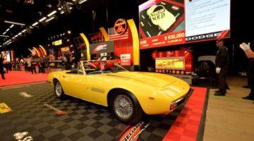 1969 Maserati Ghibli 4.9 Spider sold for $920,000