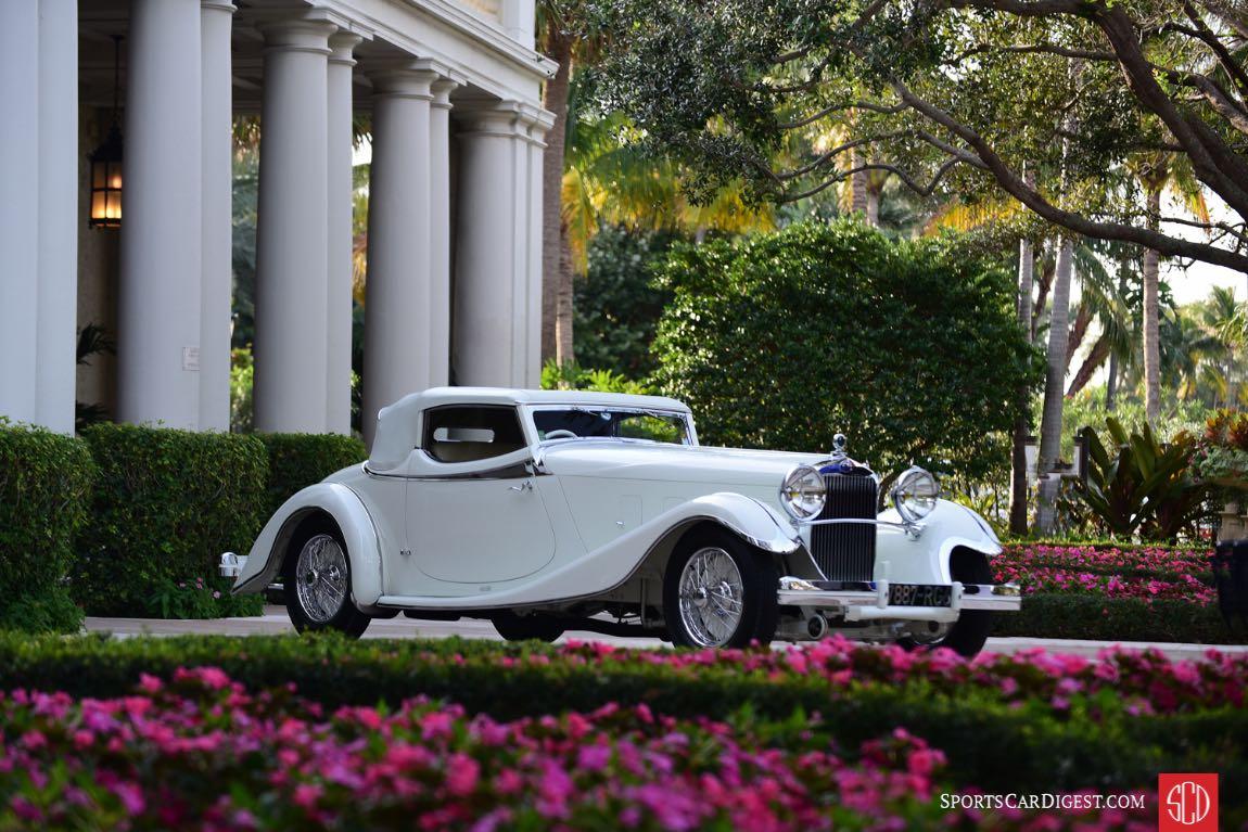 1933 Delage D8 S De Villars Roadster