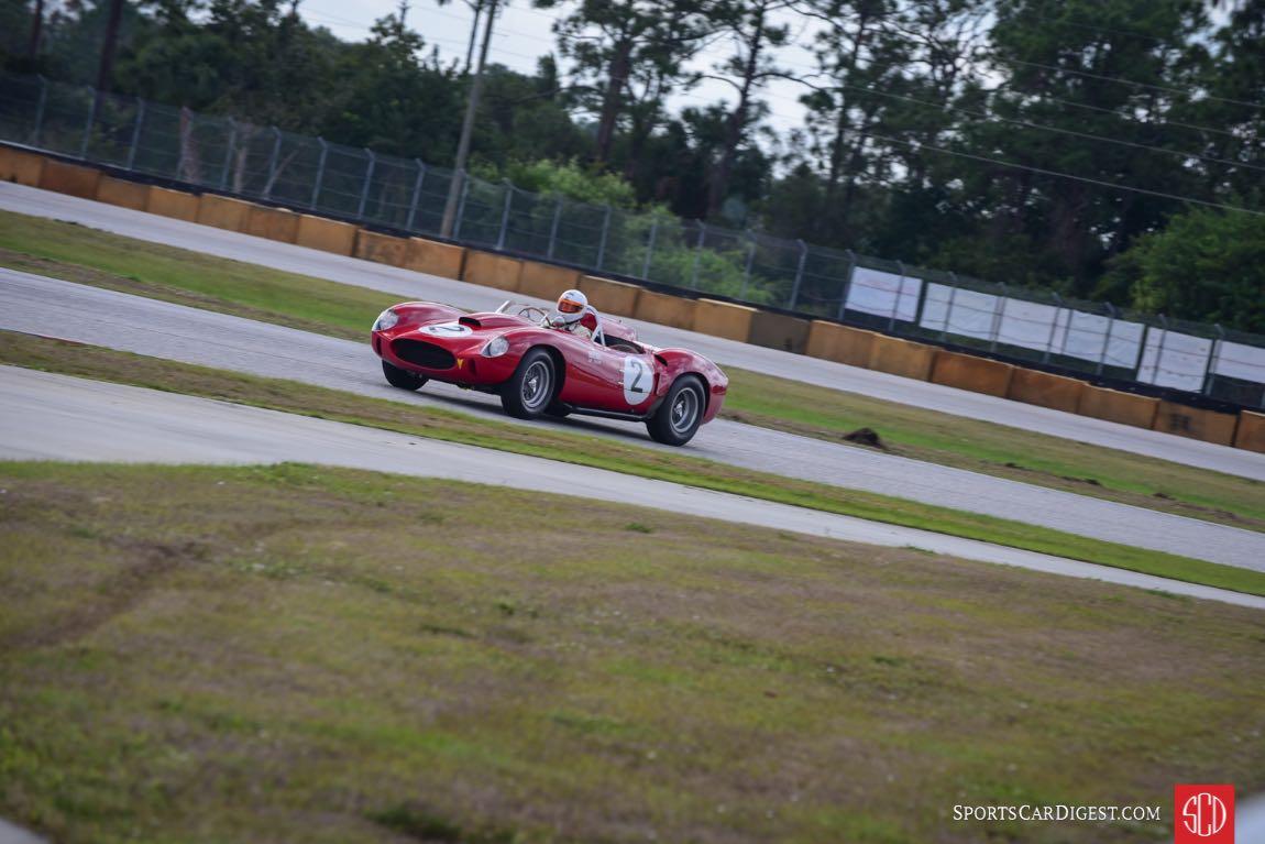 1958 Ferrari 412 MI s/n: 0744MI