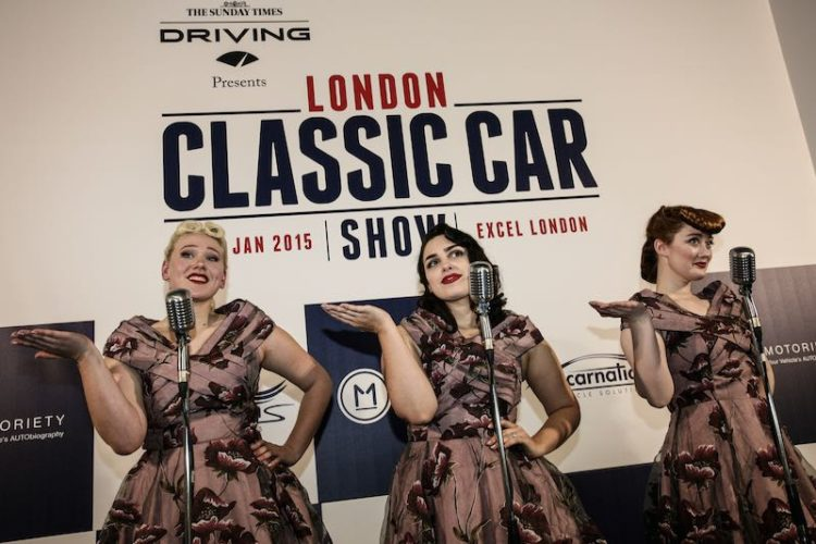 London Classic Car Show choir