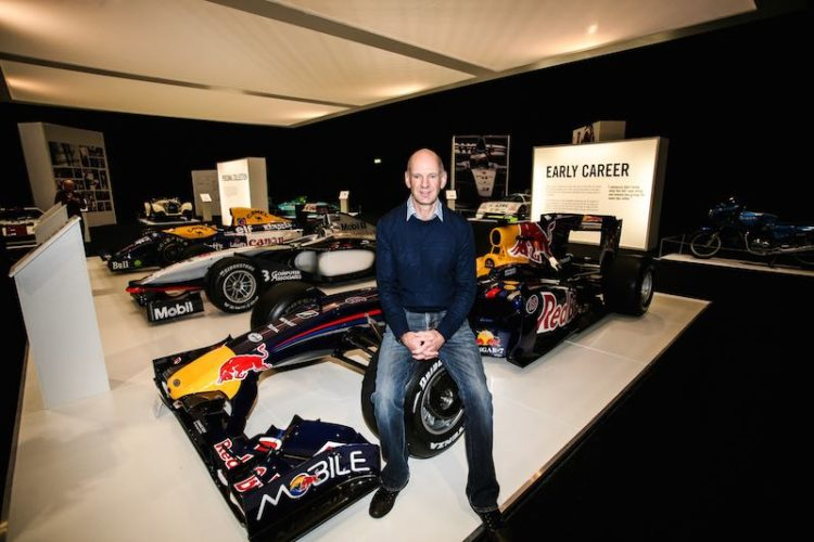 Adrian Newey London Classic Car Show