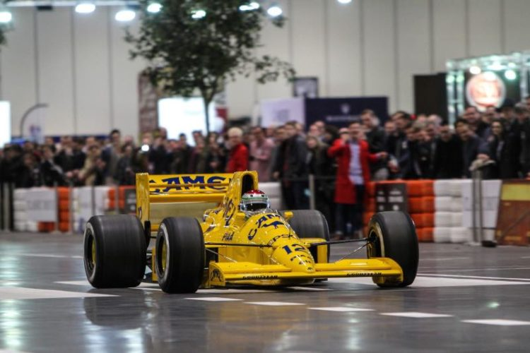 Lotus F1 on The Grand Avenue