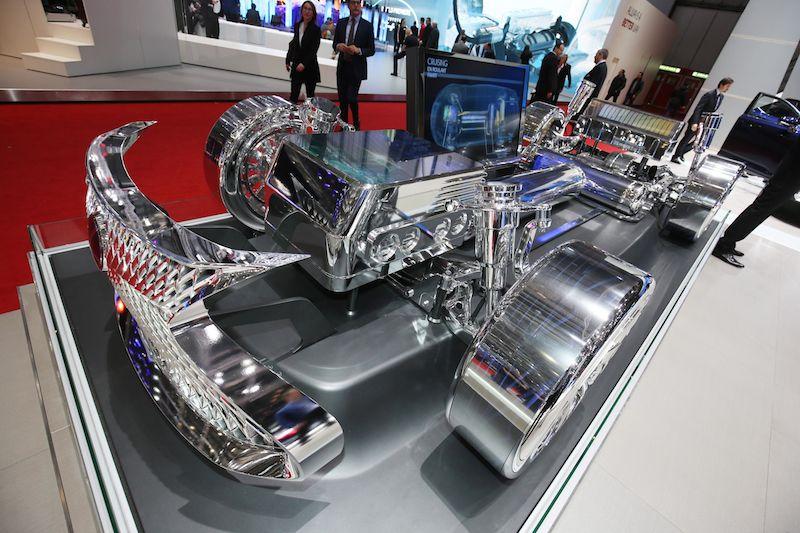 Lexus Display at Geneva Motor Show 2016