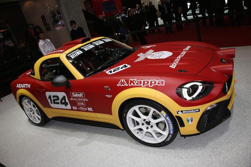 Abarth Fiat 124 Rally