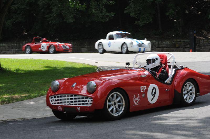 John Styduhar 1962 Triumph TR3B.