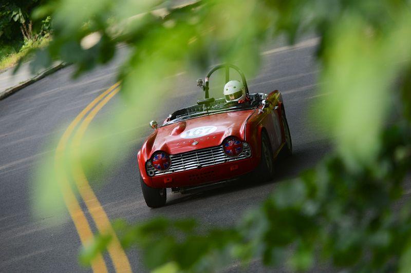 Mike Moore- 1962 Triumph TR4.