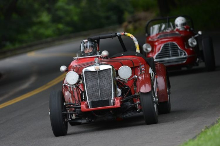 1951 MG-TD- George Shafer.