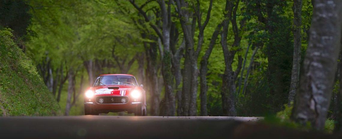 2016 Tour Auto Rally 1961 Ferrari 250 GT SWB Berlinetta