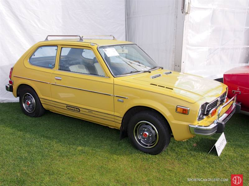 1977 Honda Civic CVCC 2-Dr. Sedan
