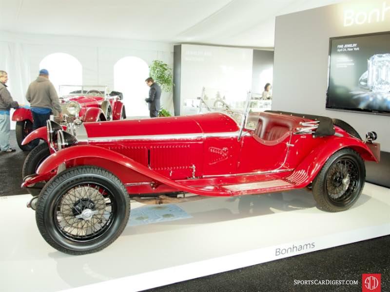 1931 Alfa Romeo 6C 1750 Gran Sport Spider, Body by Zagato