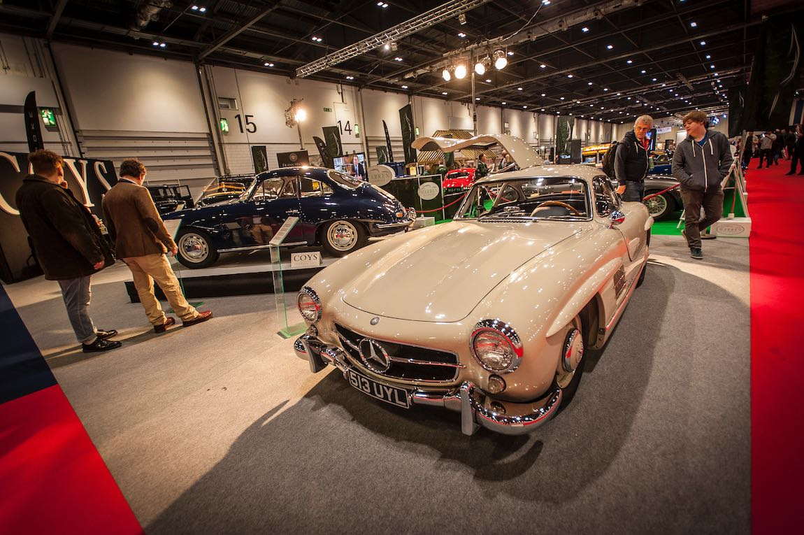 London Classic Car Show 2017