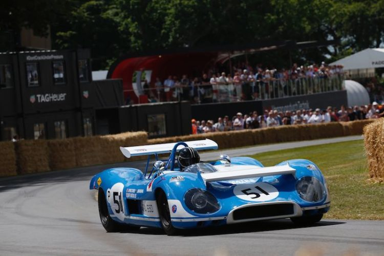 Matra MS-670 at Goodwood (photo: Alastair Staley/LAT Photographic)