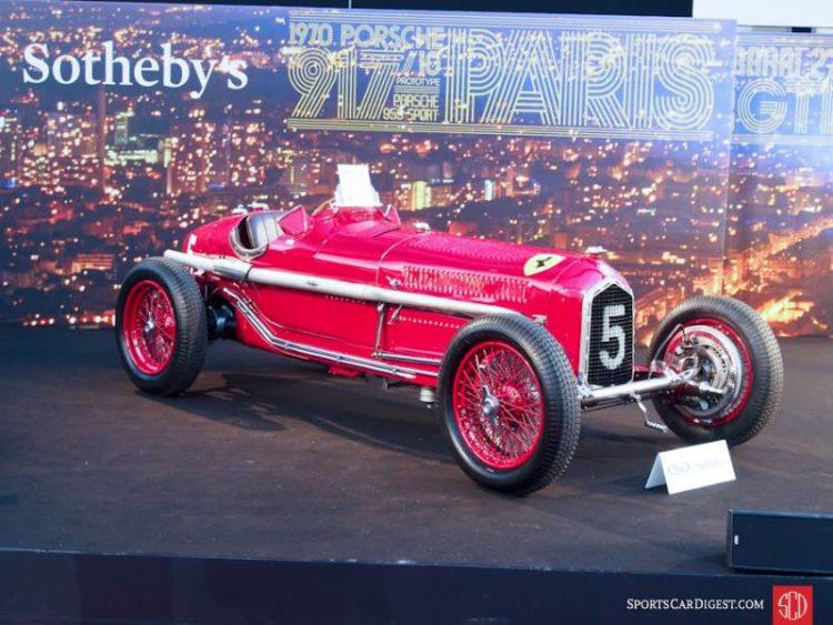 1934 Alfa Romeo Tipo B P3 Monoposto