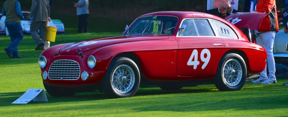 1950 Ferrari 166 MM Berlinetta Le Mans