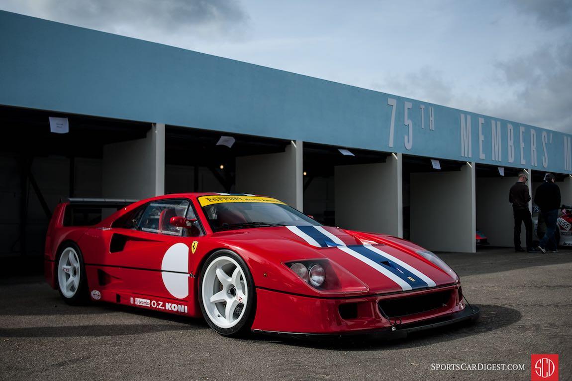 Flamethrower Ferrari F1 126C2 ex Gilles Villeneuve  EPIC
