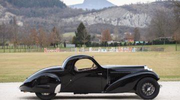 1935 Bugatti Type 57 Atalante Prototype (photo: Tim Scott)