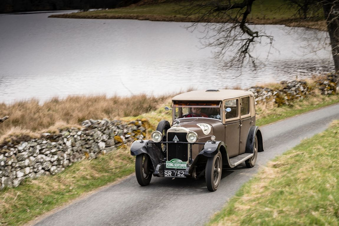 Car 29. Paul Wignall (GB) / Mark Appleton (GB) 1929 Alvis Silver Eagle, Flying Scotsman 2017, Aviemore - Gleneagles