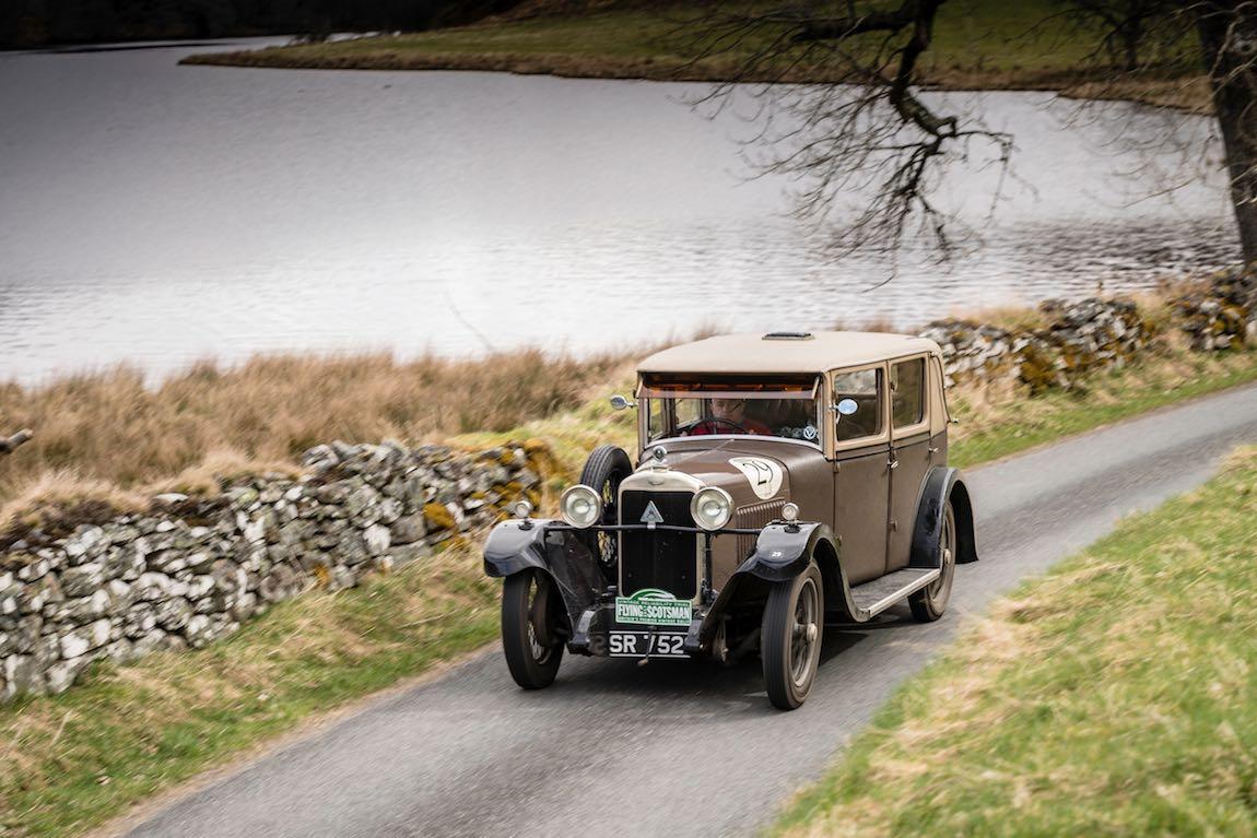 Car 29. Paul Wignall (GB) / Mark Appleton (GB) 1929 Alvis Silver Eagle, Flying Scotsman 2017, Aviemore - Gleneagles