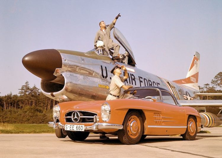 Mercedes-Benz 300 SL Roadster (W 198 II, 1957 to 1963), 1960.