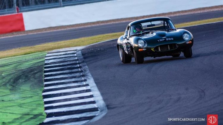 Jaguar E-Type at Silverstone (photo: Matt White)
