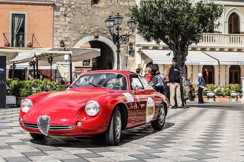 Alfa Romeo Giulietta SZ- 2017 Targa Florio