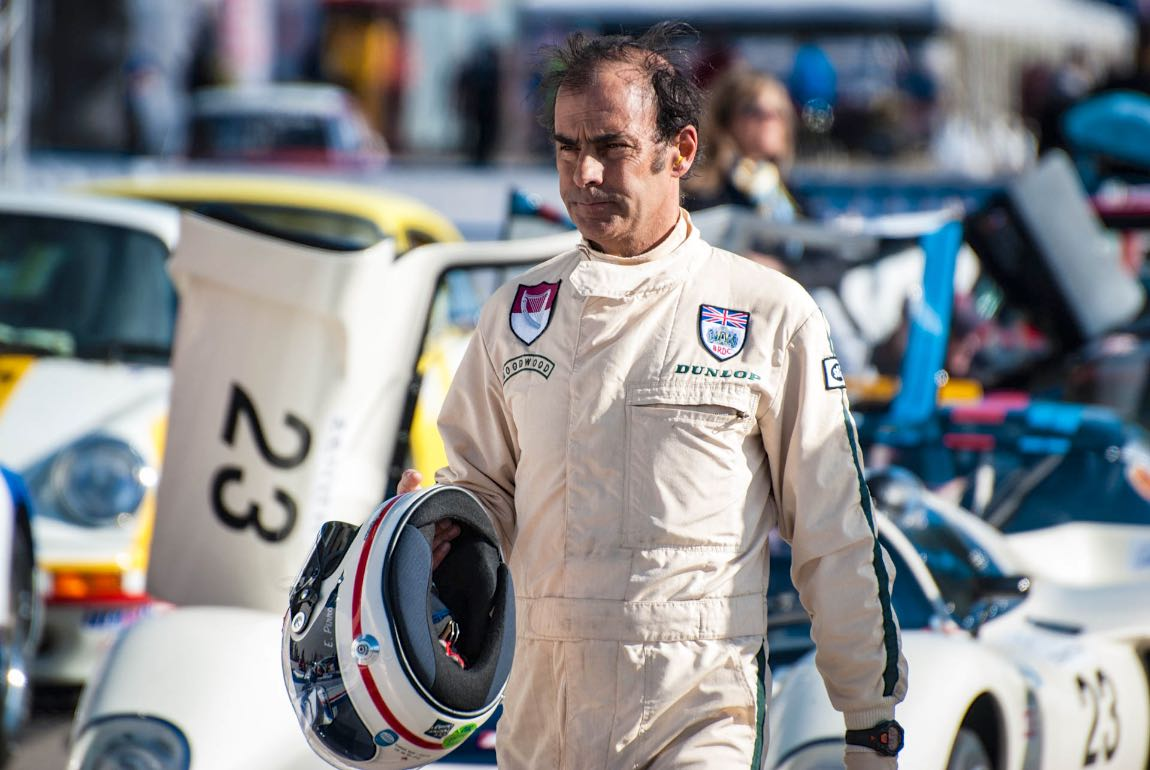 Five-time 24 Hours of Le Mans winner, Emanuele Pirro during the Jarama Classic 2017