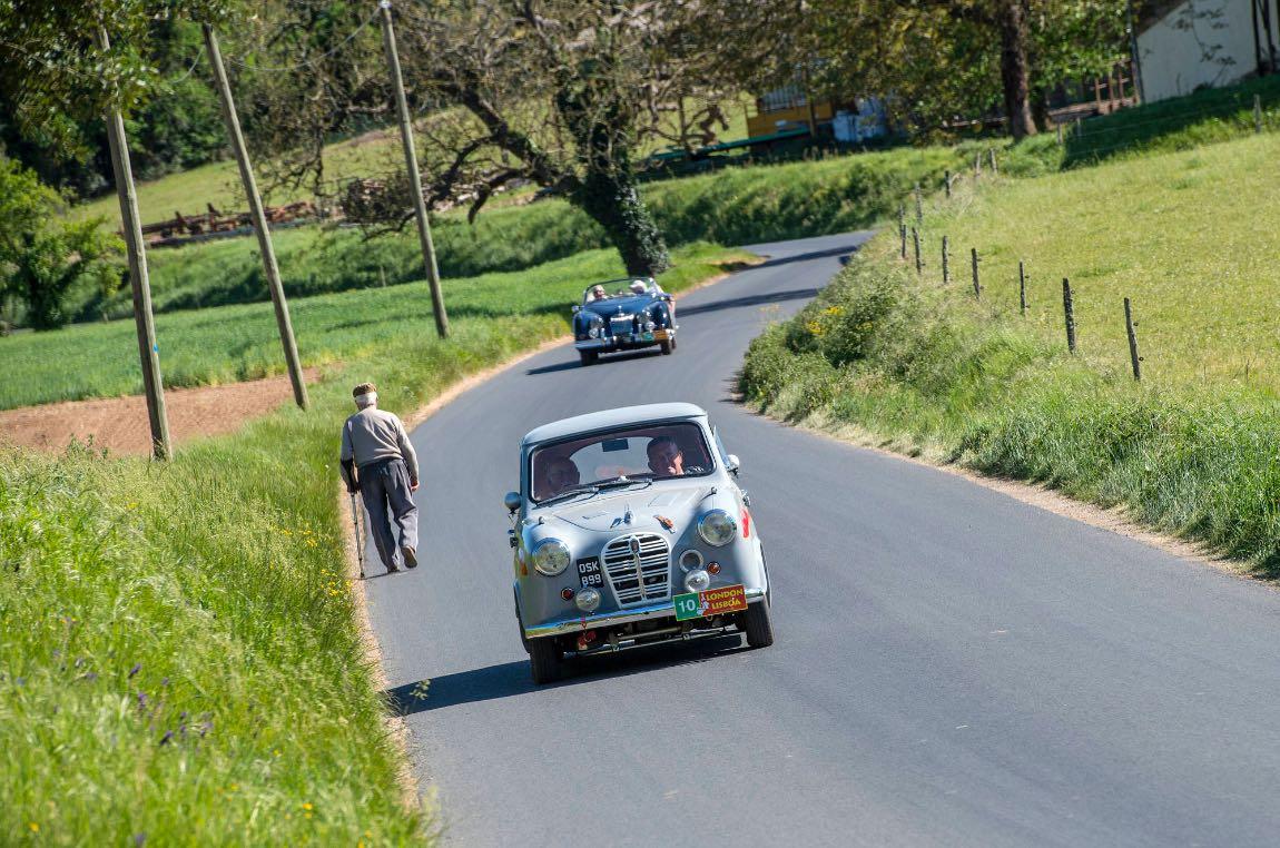 1955 Austin A30 - London to Lisbon Rally 2017