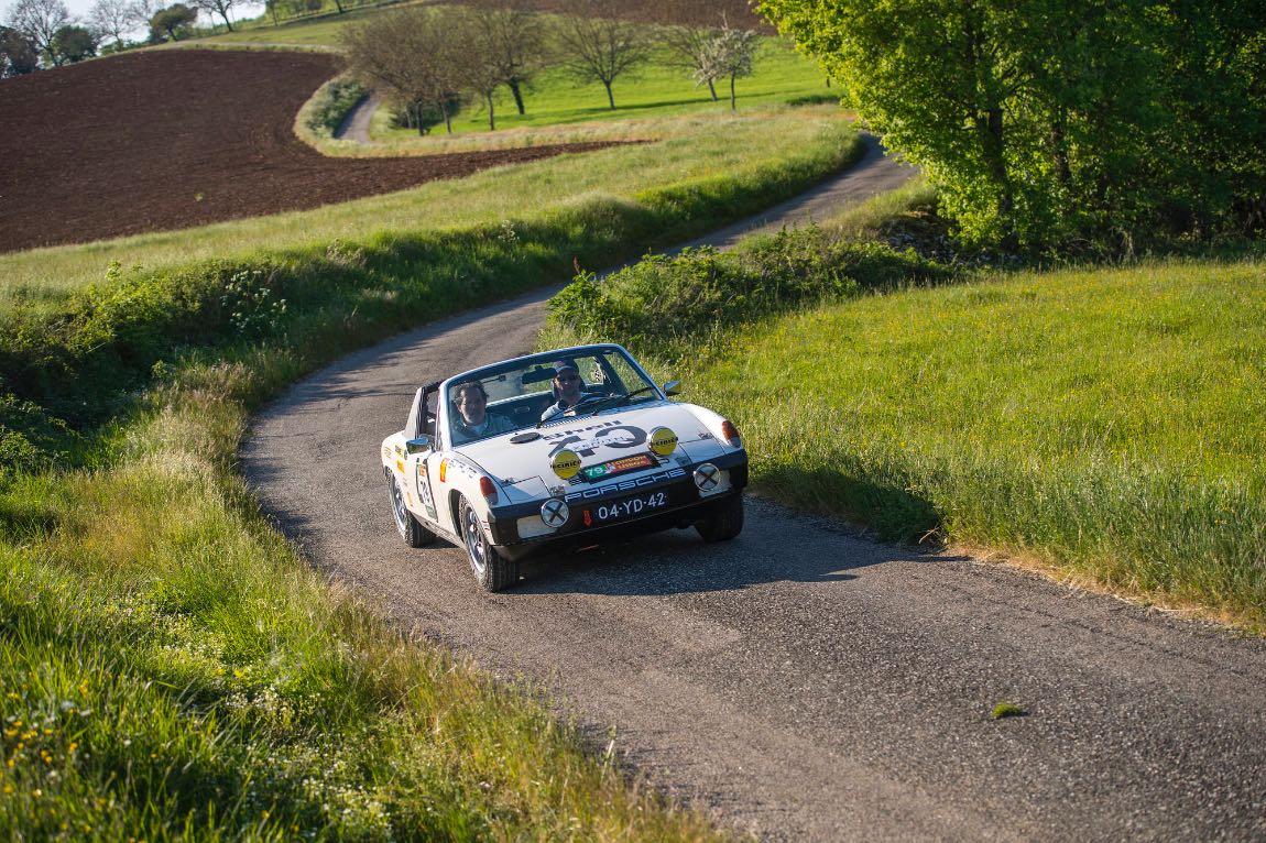 1975 Porsche 914 - London to Lisbon Rally 2017