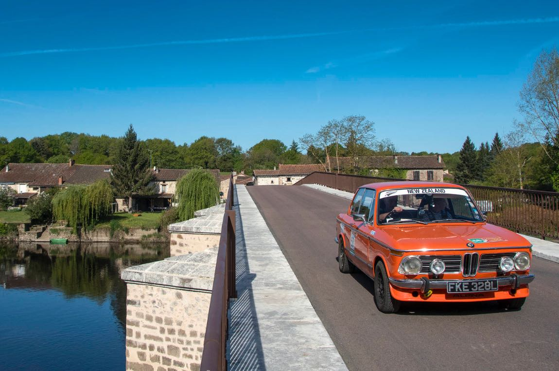1972 BMW 2002 Tii - London to Lisbon Rally 2017