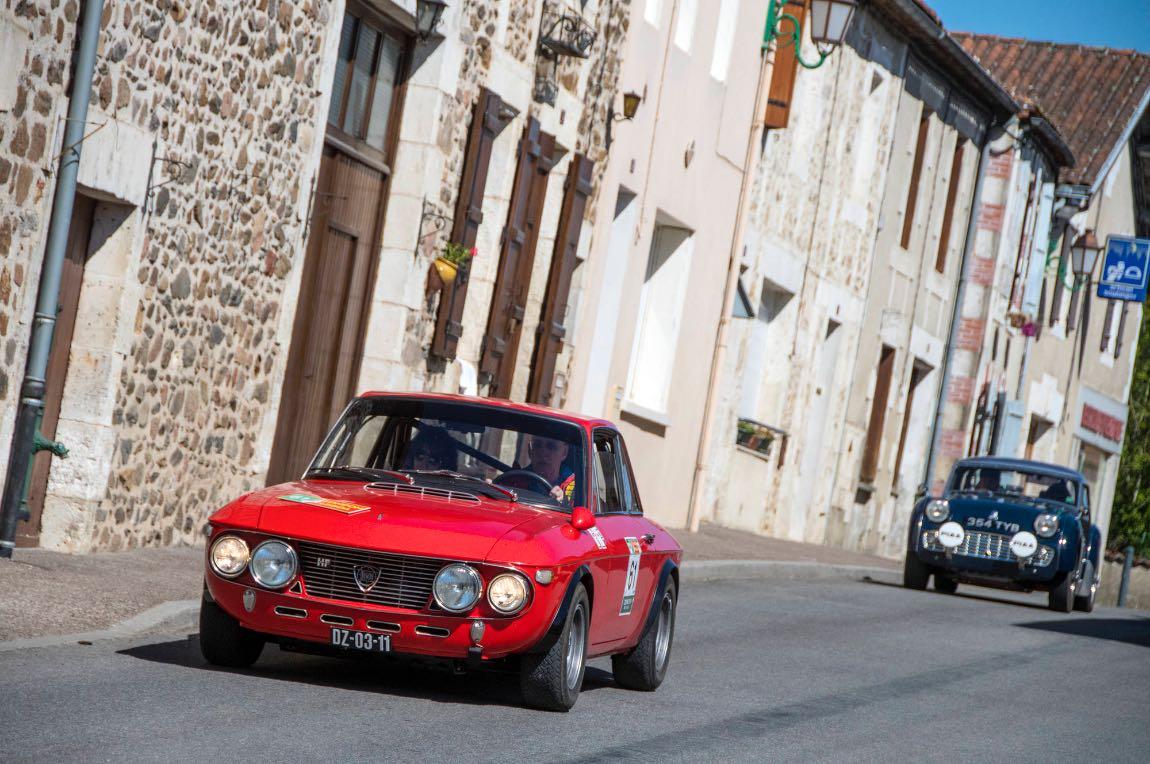 1971 Lancia Fulvia 1.6 HF Rallye - London to Lisbon Rally 2017