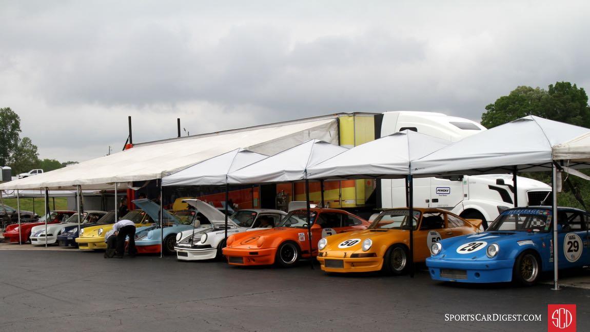 Porsche was the featured marque.