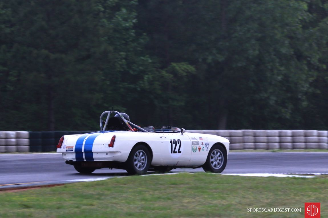 Christopher Sloan, 67 MGB
