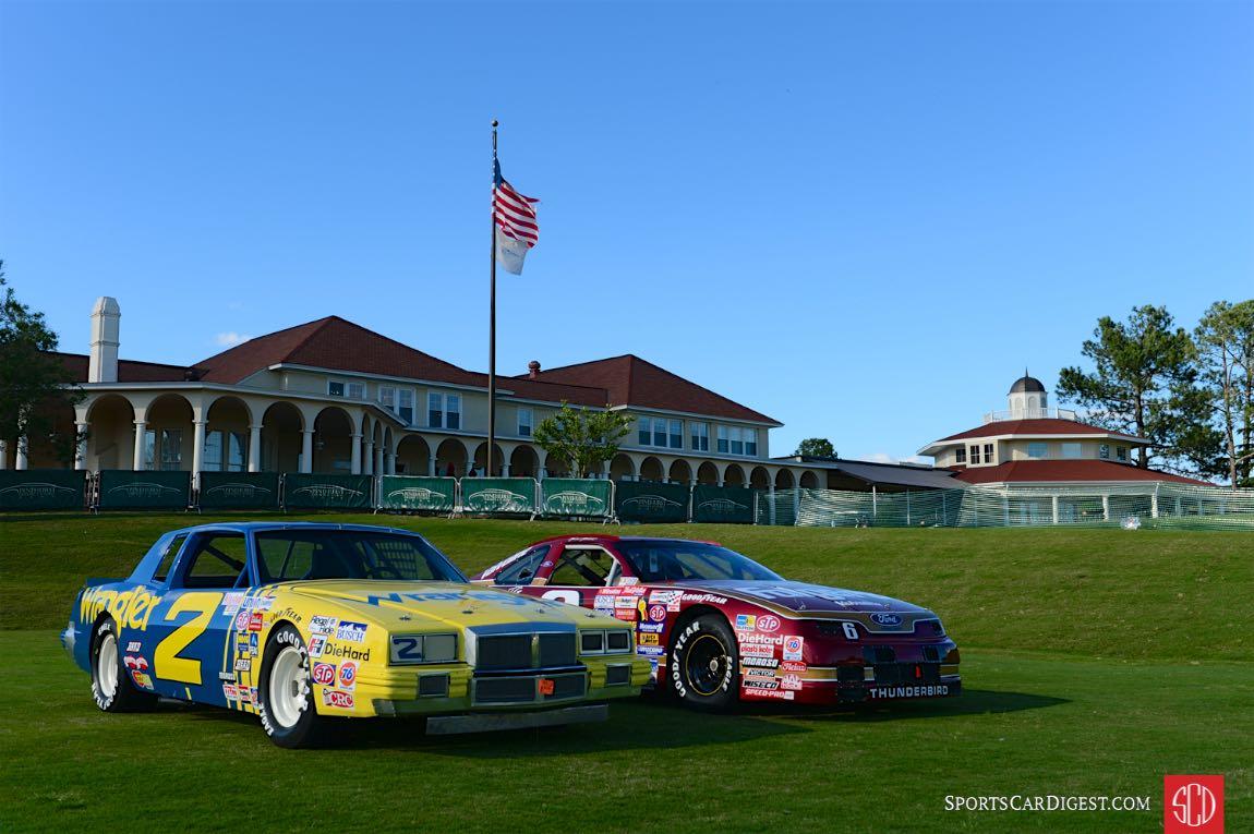 1981 NASCAR Dale Earnhardt Pontiac. 1990 NASCAR Mark Martin Ford.