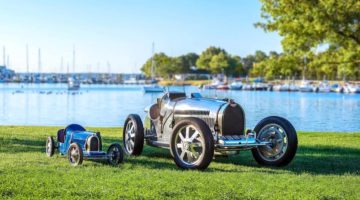 Bugatti featured at the 2017 Greenwich Concours