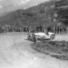 International Klausenpass Race for Sports Cars, 13 - 14 August 1927. Rudolf Caracciola (starting number 105) won the class for sports cars with over 5 litres displacement in the Mercedes-Benz Model S and set the record for sports cars in the Klausenpass Race.