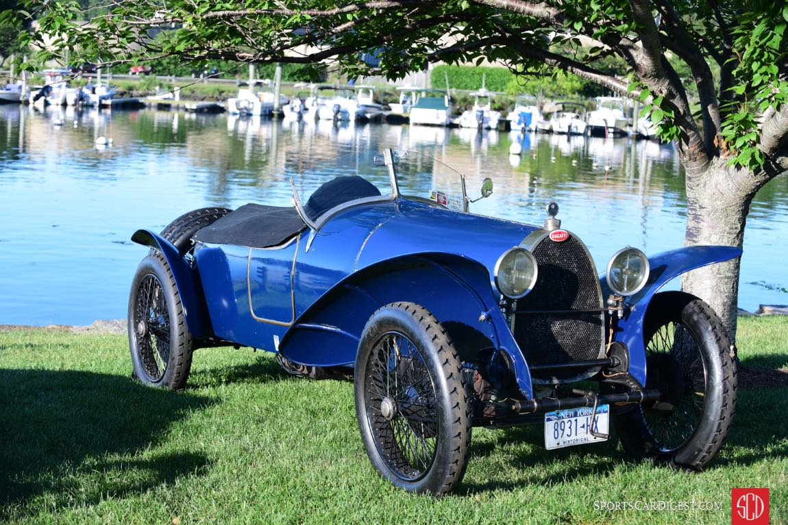 More than 20 Bugattis featured at the Greenwich Concours d'Elegance 2017