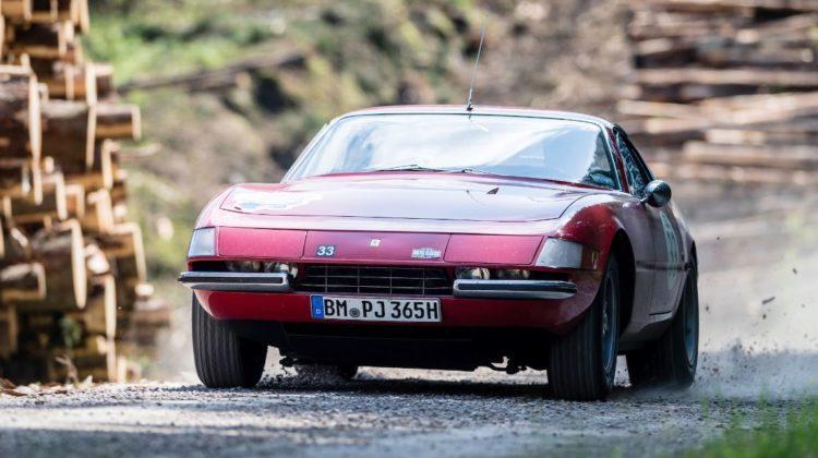 Baltic Classic 2017. Day 02 Gothenburg - Karlstad, Car 33. Joerg Lemberg(D) / Louis Lemberg(D)1969 Ferrari 365 GTB/4 Daytona