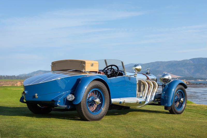 Pebble beach concours 2017 best of show winner for Mercedes benz myrtle beach