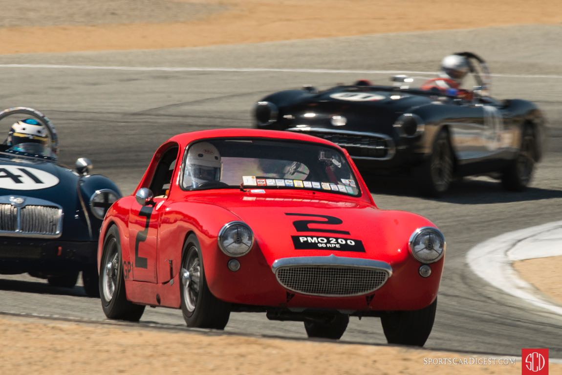 Terry Cowan - 1960 Austin Healey Sebring Sprite Coupe
